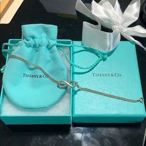 Sterling silver Tiffany Infinity Bracelet